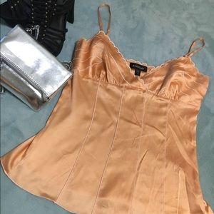 Silk peach blouse 🍑